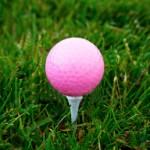 Pink Golf Ball - Girls and Golf