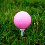 Pink Golf Ball - Girls and Golf