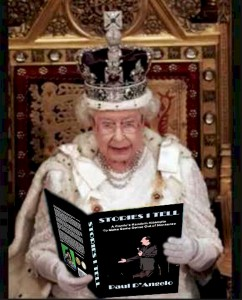 Queen with book B